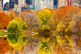 The Pond in Central Park, Manhattan, New York City Photographic Print by Sabine Jacobs