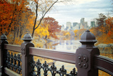 The Lake in Central Park, Manhattan, New York City Photographic Print by Sabine Jacobs