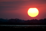 Sunset over Brahma Island Photographic Print by Carlton Ward