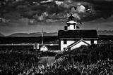 The Point Wilson Lighthouse Near Port Townsend Photographic Print by Jonathan Irish