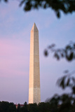 The Washington Monument at Sunset Photographic Print by Vickie Lewis