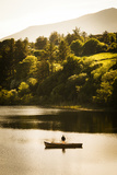 Fishing in Creeslough, Donegal Photographic Print by Chris Hill