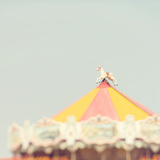 The Carousel Photographic Print by Laura Evans