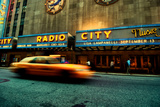 Radio City Music Hall, Manhattan, New York City Photographic Print by Sabine Jacobs