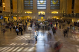 Commuters Streaming Through Grand Central Station Photographic Print by Stephen Alvarez