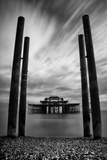 East Pier Brighton Photographic Print by Svante Oldenburg