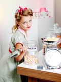 Vintage Candy Store Photographic Print by Yvette Leur