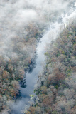 An Aerial View of the Silver River Within Silver River State Park in Florida Photographic Print by Carlton Ward