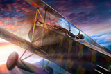 Fokker D7C Photographic Print by David Bracher