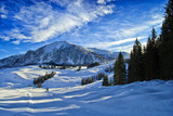 Alpine Winter Landscape, Austria, Europe Photographie par Sabine Jacobs