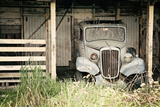The Old Car in the Barn 2 Photographic Print by Susannah Tucker