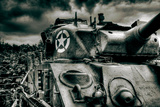 Sherman Tank Photographic Print by David Bracher