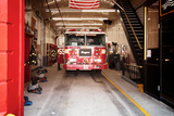 Fire Engine 55 Near Chinatown, Manhattan, New York City Photographic Print by Sabine Jacobs
