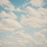 Fluffy Skies ... Photographic Print by Laura Evans