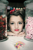 Vintage Sweet Shop Photographic Print by Yvette Leur