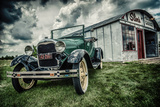 Slim's Garage Photographic Print by Stephen Arens