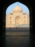 The Taj Mahal Photographic Print by David Bracher