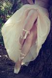 Ballerina Fotodruck von Sabine Rosch