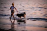 Sunset Run Photographic Print by Sharon Wish