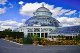 Haupt Conservatory, New York Botanical Gardens, Bronx, New York Photographic Print by Sabine Jacobs