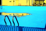 An Empty Public Swimming Pool in the Bronx, New York City Photographic Print by Sabine Jacobs