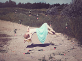 Falling Love Photographic Print by Sabine Rosch