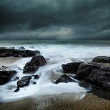 Incoming Tide Photographic Print by David Baker