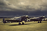 Spitfire Storm Photographic Print by David Bracher