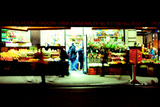 Grocery Store Off Times Square at Night, Manhattan, New York Cit Photographic Print by Sabine Jacobs