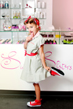 1950's Candy Girl Photographic Print by Yvette Leur