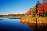 Calm Lake in New England, Connecticut, Usa Photographic Print by Sabine Jacobs