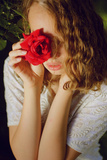 Portrait of a Rose Photographic Print by Michalina Wozniak