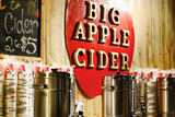 Big Apple Cider for Sale at the Christmas Market in Bryant Park, Photographic Print by Sabine Jacobs