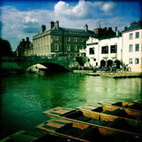 Punting in Cambridge Photographic Print by Craig Roberts