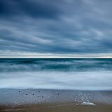 Blue Tide Photographic Print by David Baker