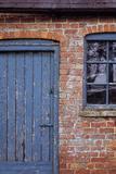 Old Orange Brick Photographic Print by Den Reader