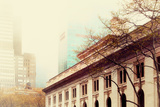 Astor Hall/New York Public Library, Manhattan, Surrounded by Fog Photographic Print by Sabine Jacobs