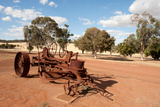 Abandoned Farm Machinery Photographic Print by Will Wilkinson