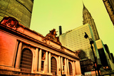 Grand Central Terminal with Chrysler Building, Manhattan, New Yo Photographic Print by Sabine Jacobs