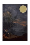 Astronomical Observations - Sun Plakaty autor Donato Creti