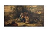 Rest During the Flight to Egypt Posters