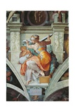 Sistine Chapel Ceiling, Libyan Sybil Plakater af Michelangelo Buonarroti