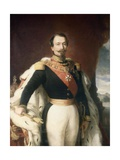 Napoleon the Third, Emperor of France after Franz Xaver Winterhalter Giclee Print