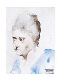 Portrait de femme Affiches par Demetrio Cosola