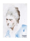 Portrait of a Woman Prints by Demetrio Cosola