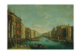 Regatta on the Grand Canal Giclee Print by Giuseppe Bernardino Bison