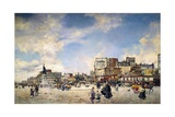 Clichy Palace in Paris Giclee Print by Giovanni Boldini