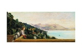 Lake Maggiore from the Villa Ada Troubetzkoy Prints by Ranzoni Daniele