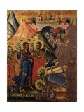 Resurrection of Lazarus, Jesus Opening the to mb Giclee Print by Joani Cetiri