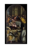 Last Supper with Saint Apollinaris and Holy Lorenzo Giustiniani Giclee Print by Matteo Ingoli